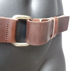 Polo by Ralph Lauren Accessories - Polo Ralph Lauren Tan Saddle Leather Belt - Size L